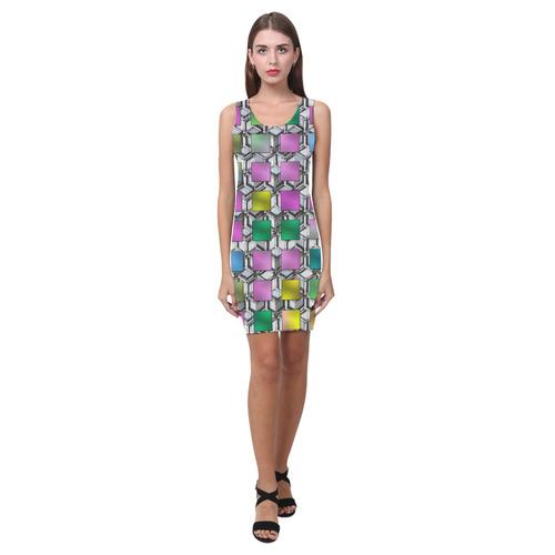 ABSTRACT LADY Medea Vest Dress (Model D06)
