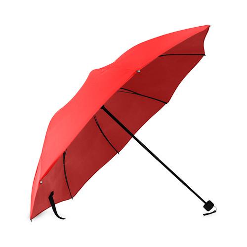 Red Foldable Umbrella