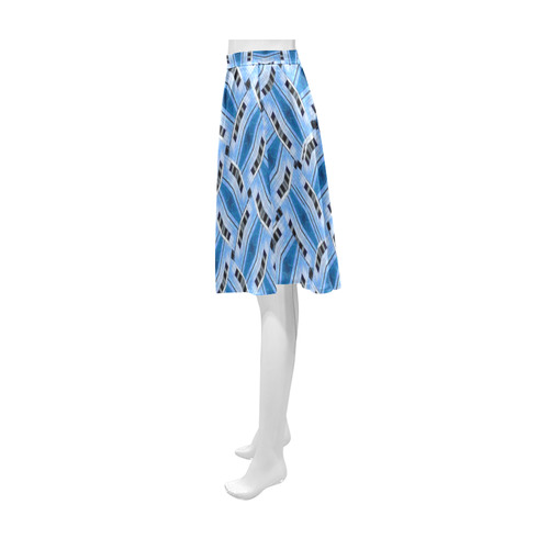 GLASS CUBE WEAVE Athena Women's Short Skirt (Model D15)