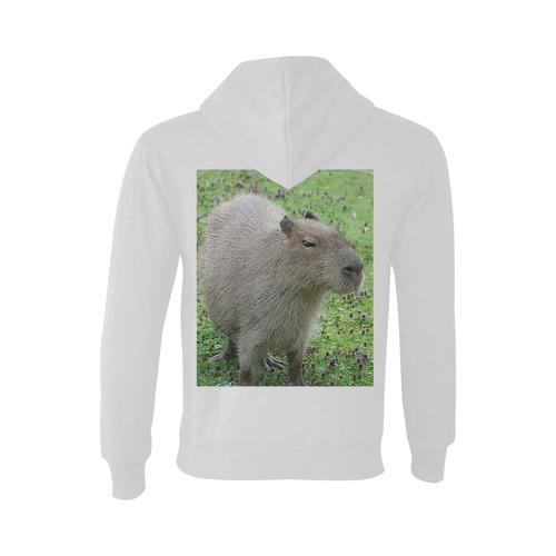 cute capybara Oceanus Hoodie Sweatshirt (NEW) (Model H03)