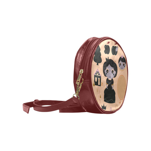 """Looking for """"Halloween princess and prince?!"""" Yes, we have it as designers bag. Original v Round Sling Bag (Model 1647)"""
