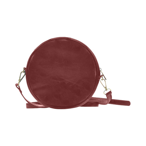 New in shop. Artistic bag edition for each Traveller. Contemporary hand-drawn Art. NEW FASHION COLLE Round Sling Bag (Model 1647)