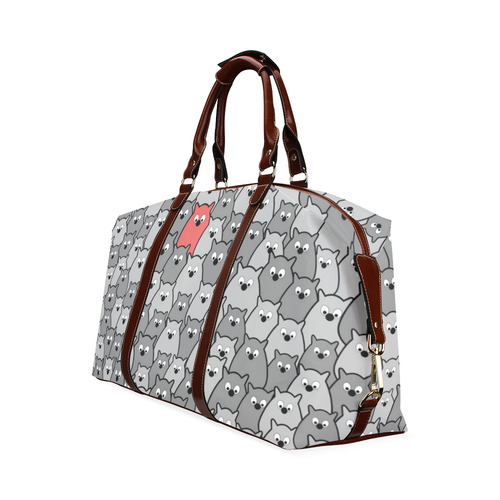 Stand Out From the Crowd Classic Travel Bag (Model 1643) Remake