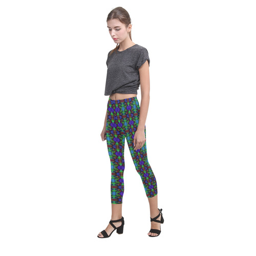 Brick in the Wall Capri Legging