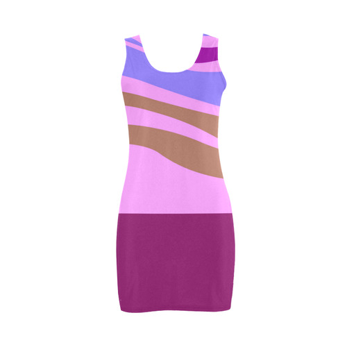 You will be owner of Dreamy dress? Dream your Dream. New! Wild colors, perfect stripes. New guothova Medea Vest Dress (Model D06)