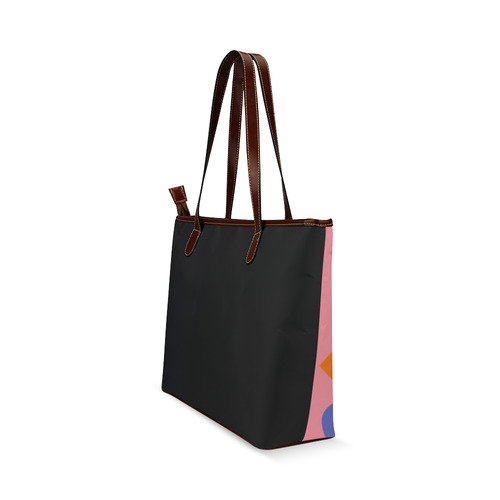 New! Stylish hand-drawn art with Ribbons. Designers vintage bags edition 2016. New art in shop Shoulder Tote Bag (Model 1646)
