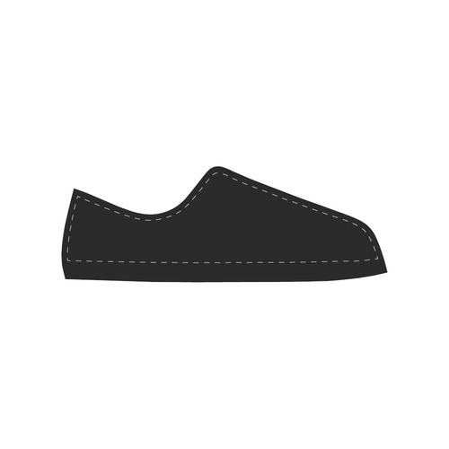 New! Luxury designers shoes / New art edition 2016 in black and white Canvas Women's Shoes/Large Size (Model 018)