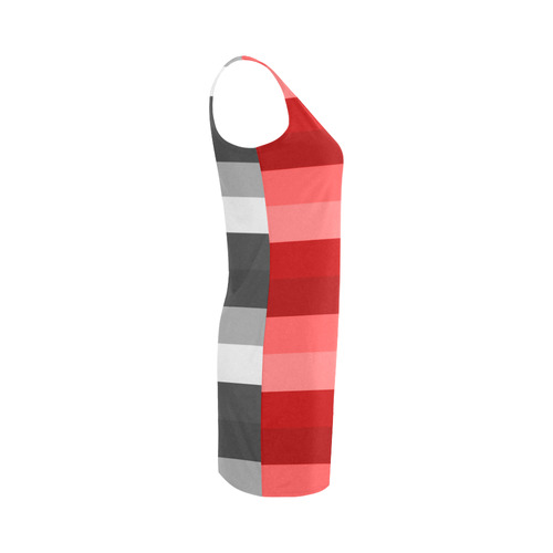 We create inovative Fashion and probably you will Love it. Latest guothova 2016 / Vintage stripes ed Medea Vest Dress (Model D06)