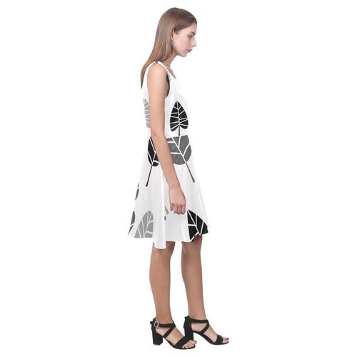 New in design atelier. Vintage original designer fashion. Edition 2016 in black and monochrome / Ori Hebe Casual Sundress (Model D11)