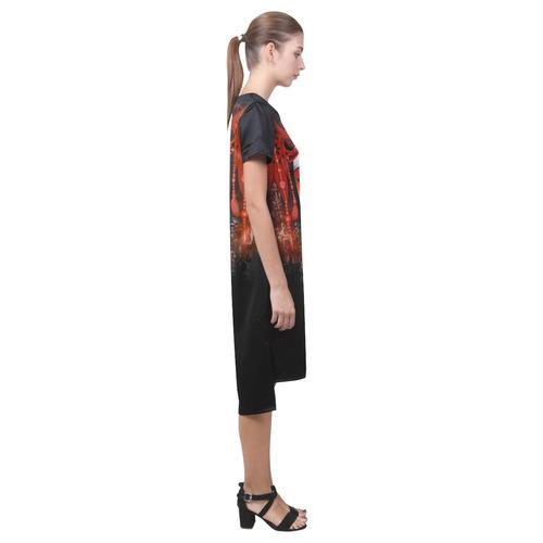 Yuki Short Sleeves Casual Dress(Model D14)