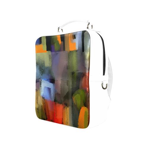Color world Square Backpack (Model 1618)