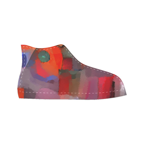 super High Top Canvas Women's Shoes/Large Size (Model 017)