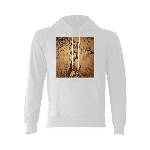 Cute giraffe in the fantasy wood Oceanus Hoodie Sweatshirt (NEW) (Model H03)