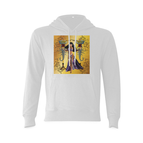 Egyptian women with scorpion Oceanus Hoodie Sweatshirt (NEW) (Model H03)