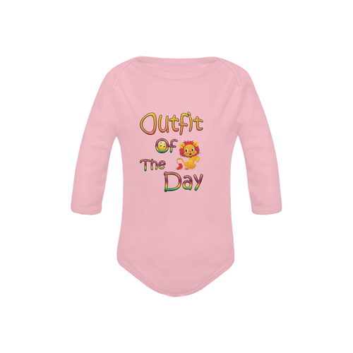 outfit of the day Baby Powder Organic Long Sleeve One Piece (Model T27)
