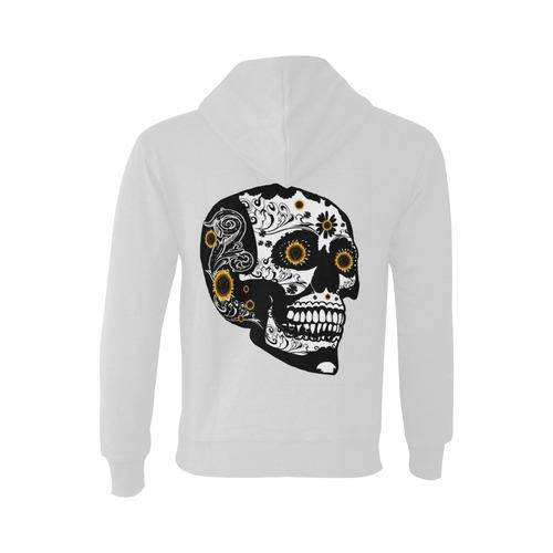 Sugar skull Oceanus Hoodie Sweatshirt (NEW) (Model H03)