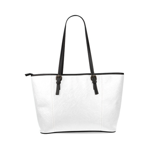 Stylish original bag with Chandelier. Designers fashion 2016. New arrival in pink and black Leather Tote Bag/Small (Model 1640)