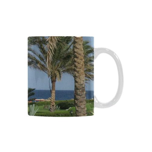 Egypt Beach White Mug(11OZ)
