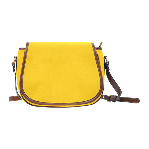 New bags in our atelier : Vintage yellow old-style. Buy latest fashion 2016 Saddle Bag/Large (Model 1649)