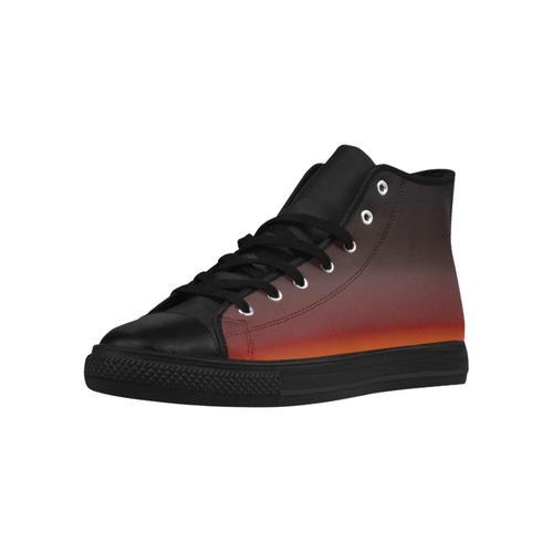 base Aquila High Top Microfiber Leather Women's Shoes (Model 032)