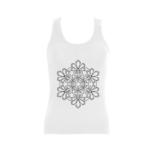 New in stock. Luxury designers t-shirt. New original hand-drawn fashion in our atelier. Fashion art  Women's Shoulder-Free Tank Top (Model T35)