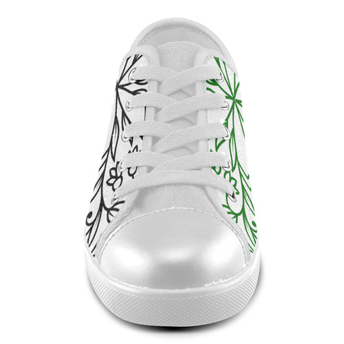 New in shop. Luxury vintage original hand-drawn Shoes edition 2016 Canvas Kid's Shoes (Model 016)
