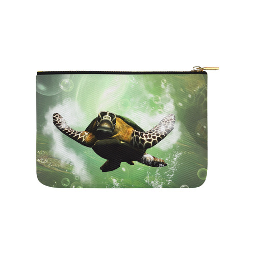Cute turtle Carry-All Pouch 9.5''x6''
