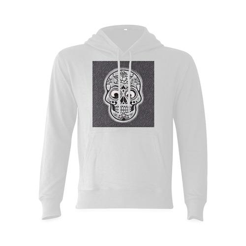 funny skull Oceanus Hoodie Sweatshirt (NEW) (Model H03)