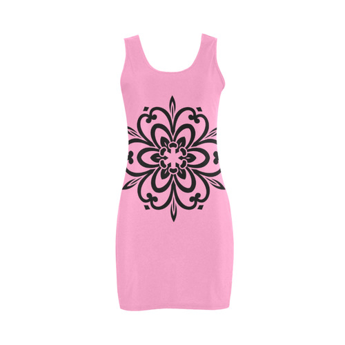New arrival! Luxury designers dress with Mandala art in our shop! New Original hand-drawn art. Colle Medea Vest Dress (Model D06)
