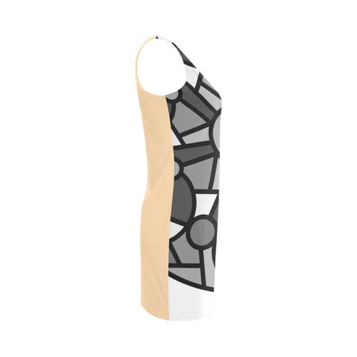 New in shop! Luxury original designers dress. Vintage hand-drawn collection for ladies Medea Vest Dress (Model D06)