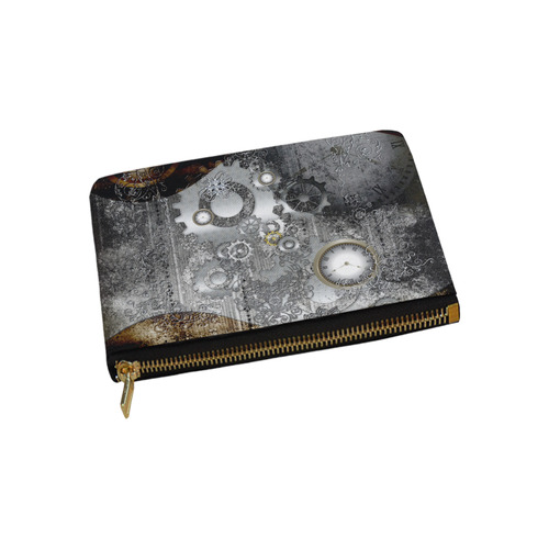 Steampunk in vintage design Carry-All Pouch 9.5''x6''