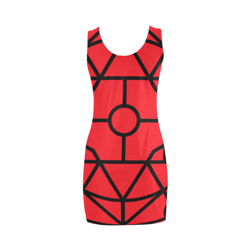 "New! ""Chilli"" authentic designers dress edition 2016 : with geometric art lines in Shop Medea Vest Dress (Model D06)"