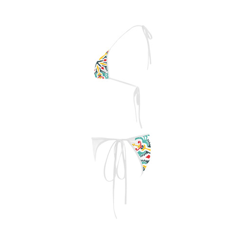 Luxury designers bikini edition with hand-drawn Original vintage art. Collection 2016 Custom Bikini Swimsuit