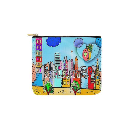 Atlanta by Nico Bielow Carry-All Pouch 6''x5''