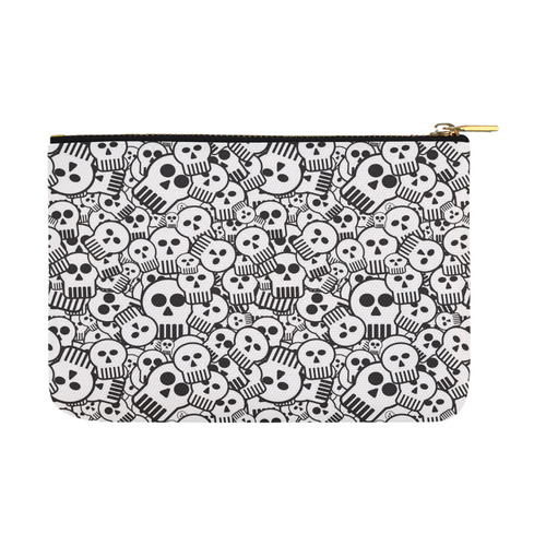 toon skulls Carry-All Pouch 12.5''x8.5''