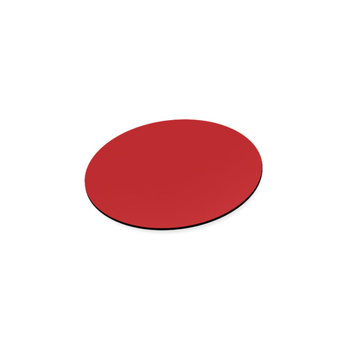 Red Round Coaster