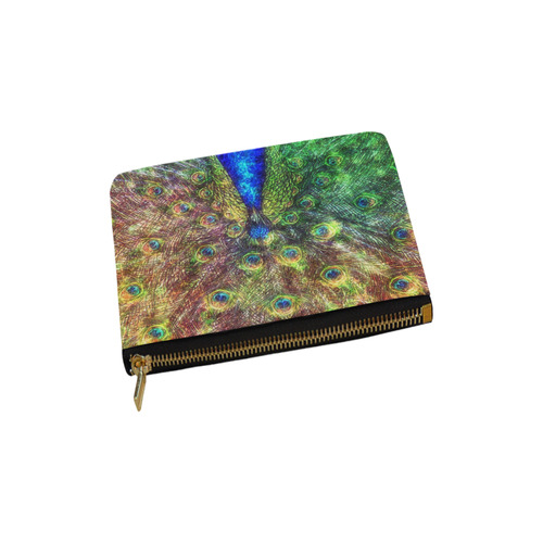 peacock Carry-All Pouch 6''x5''