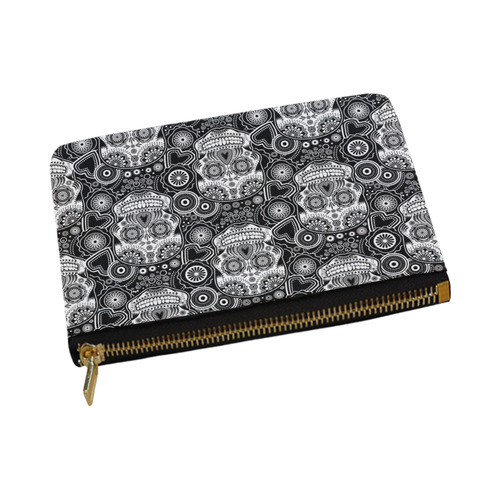 sugar skull Carry-All Pouch 12.5''x8.5''