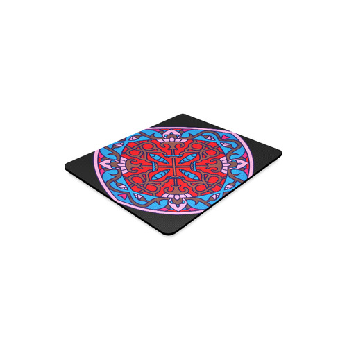 Original vintage hand-drawn Mandala Art mouse pad. New edition available for christmas Rectangle Mousepad