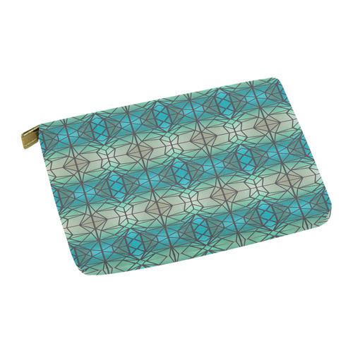 Stained glass pattern Carry-All Pouch 12.5''x8.5''