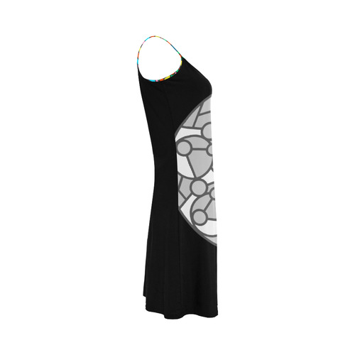 NEW, NEW, NEW in shop. Arrivals : Exclusive vintage dress original art collection. Black and grey 20 Alcestis Slip Dress (Model D05)