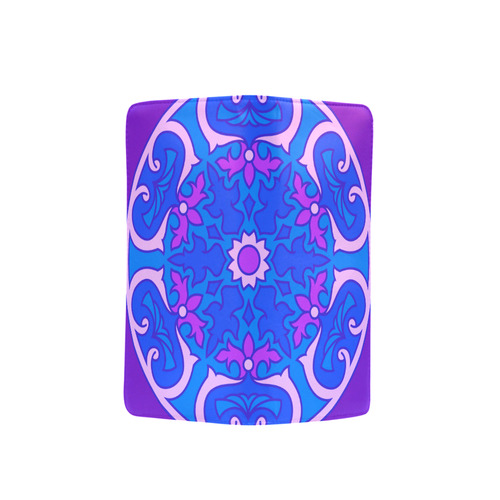 New in shop : Original luxury hand-drawn designers wallets / Purple with Mandala Art. Edition for &q Men's Clutch Purse (Model 1638)