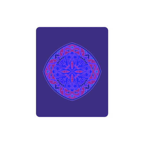 New Art in eshop. Luxury designers Mouse pad editon : Vintage purple and blue 2016 collection Rectangle Mousepad