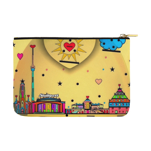 Stuttgart by Nico Bielow Carry-All Pouch 12.5''x8.5''