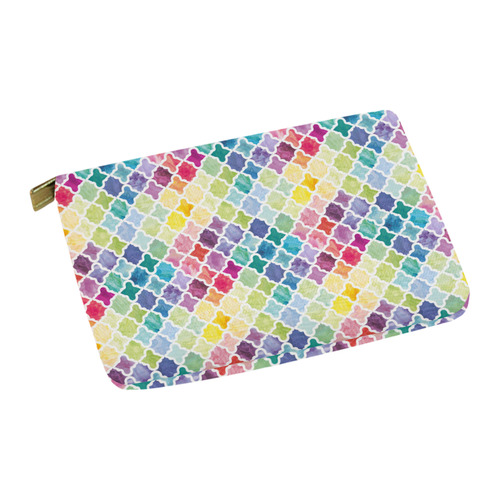 watercolor pattern Carry-All Pouch 12.5''x8.5''