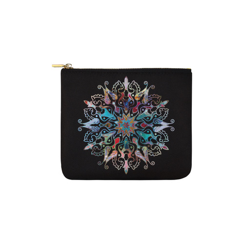 Ornaments MANDALA PONY multicolored Carry-All Pouch 6''x5''