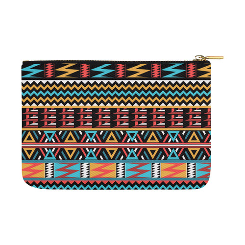 aztec pattern Carry-All Pouch 12.5''x8.5''