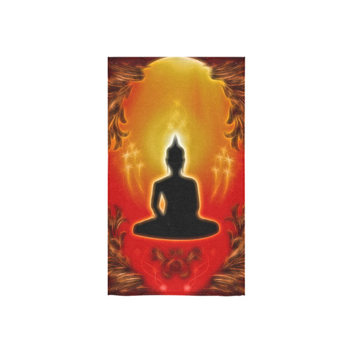 "Buddha with light effect Custom Towel 16""x28"""