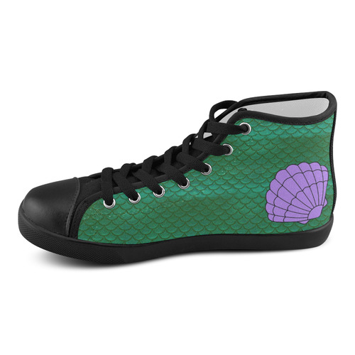 fb973df751121 Ariel Women's High Top Canvas Shoes (Model 002)