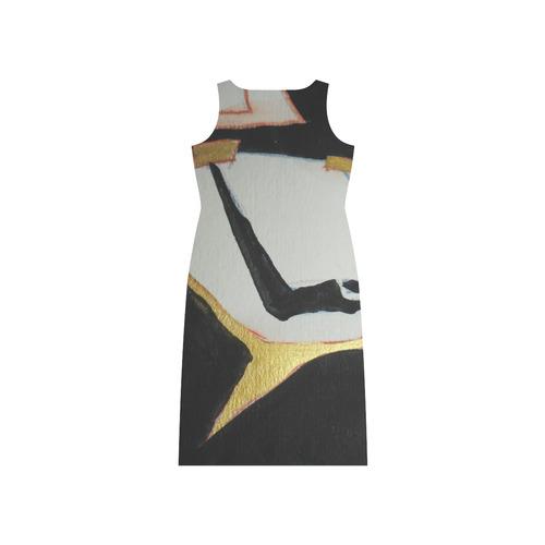 Sxisma Fashion Phaedra Collection-5 Phaedra Sleeveless Open Fork Long Dress (Model D08)